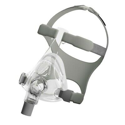Simplus Full Face CPAP Mask with Headgear (Size L/L) full face fisher&paykel