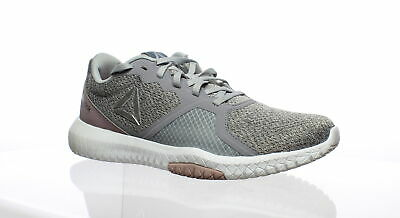 Reebok Womens Flexagon Force Gray Cross Training Shoes Size 9 (C,D,W) (471979)