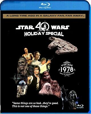 Star Wars Holiday Special 40th Anniversary Ed. Blu-ray Lots of bonus features
