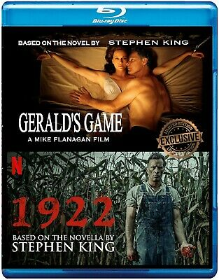 Stephen King's Gerald's Game / 1922  Movies  Double Feature [Blu-ray, 2019]