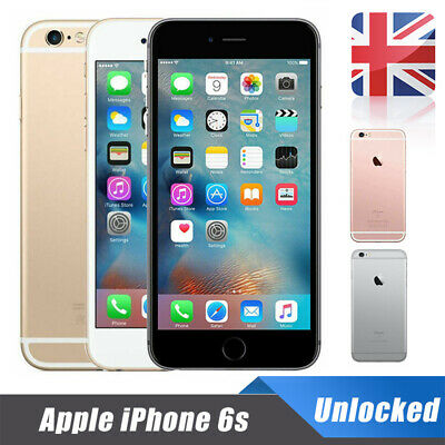 Apple iPhone 6s Factory Unlocked 16/64/128GB Mobile Smartphone SIM Free+Warranty