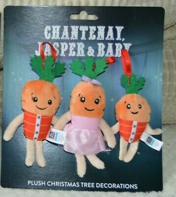 ALDI Kevin the Carrot 2019 Official Christmas Tree Decorations - Dressed