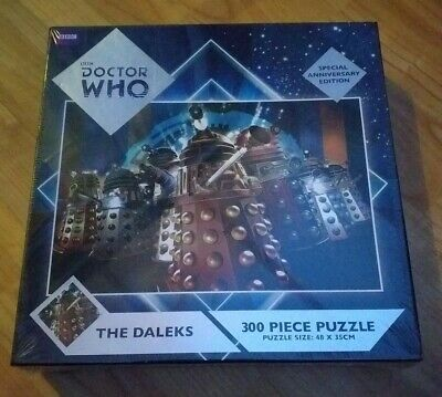 Dr Who THE DALEKS.Special Anniversary Edition Puzzle.(sealed)