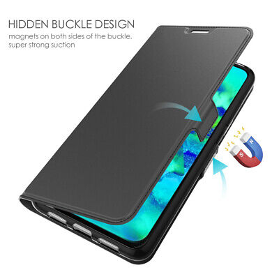 For Xiaomi Mi 9T Mi 9T Pro Slim Magnetic PU Leather Stand Wallet Case Flip Cover