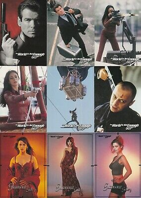 1999 James Bond The World Is Not Enough Trading Card Set
