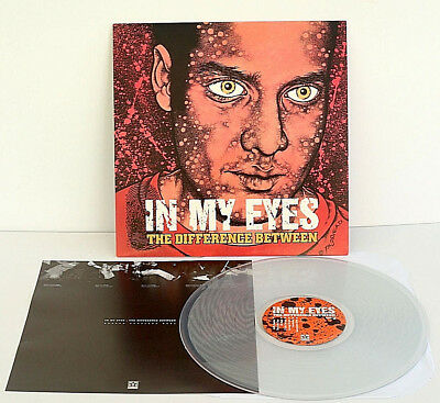 IN MY EYES the difference between LP Record CLEAR Vinyl , Pushead artwork