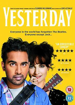 Yesterday Movie (DVD) [2019] Jack only person on earth who remembers The Beatles