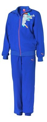 Puma Graphic Woven Suit Tracksuit Kinder Trainingsanzug Sportanzug
