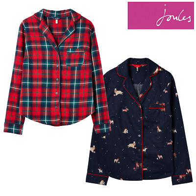 Joules Cait Button Through Classic PJ Top **FREE UK Shipping**