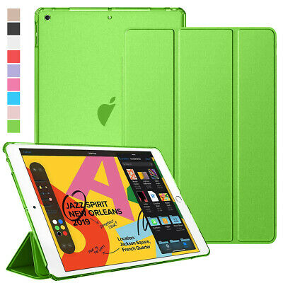 For iPad 7th Gen 10.2 Inch 2019 Magnetic Flip Defense Hybrid Smart Case Cover