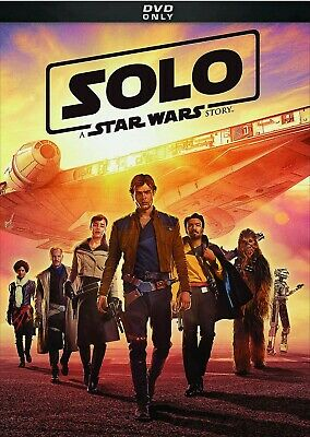Solo: A Star Wars Story DVD - Brand New - Free First Class Ship