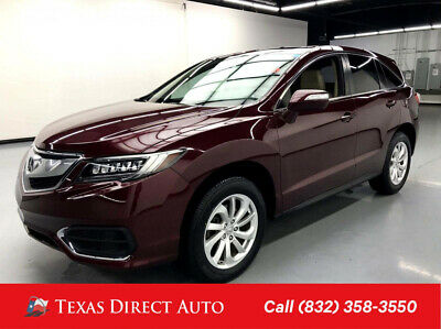 2017 Acura RDX FWD w/Technology Package Texas Direct Auto 2017 FWD w/Technology Package Used 3.5L V6 24V Automatic FWD