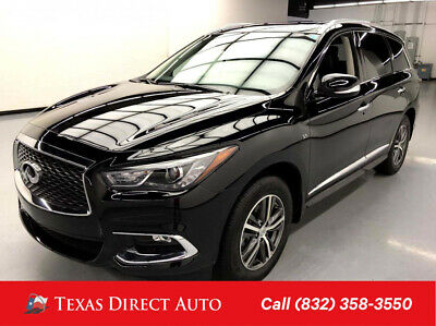2019 Infiniti QX60 LUXE Texas Direct Auto 2019 LUXE Used 3.5L V6 24V Automatic AWD SUV Premium Bose
