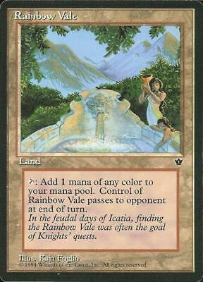 Rainbow Vale Near Mint Normal English Magic the Gathering Fallen Empires Card