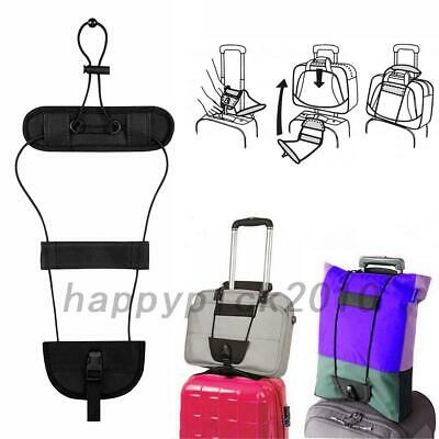 Travel Luggage Suitcase Adjustable Tape Belt Add A Bag Strap Carry On Bungee US