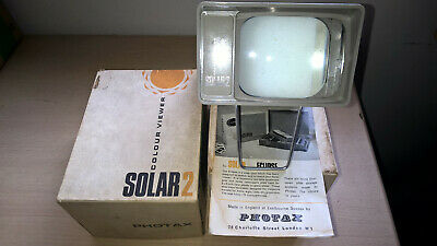 Photax Solar 2 Colour Slide Viewer in Box