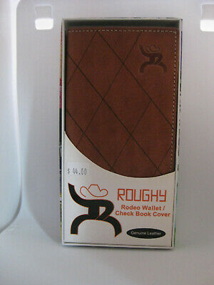 NWT Hooey Rodeo Wallet I Checkbook Interlace Brown Reddish 1829137W5 Leather
