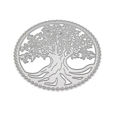 The Tree of Life Metal Cutting Dies DIY Craft Stencil Paper Card Decor Die Cuts