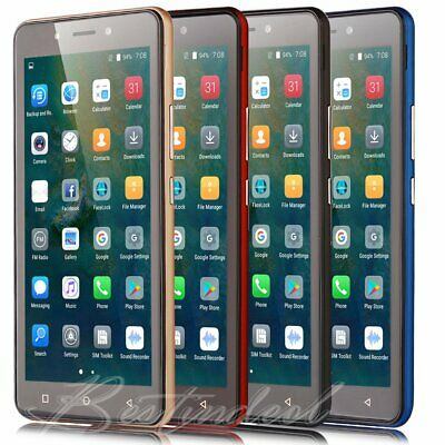 """5.5"""" 3G Android 8.1 Cheap Unlocked Smartphone WiFi Quad Core Dual SIM Cell Phone"""