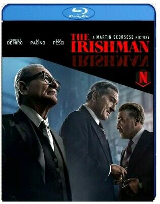 The Irishman  Martin Scorsese, Robert De Niro, [2019, Blu-ray]