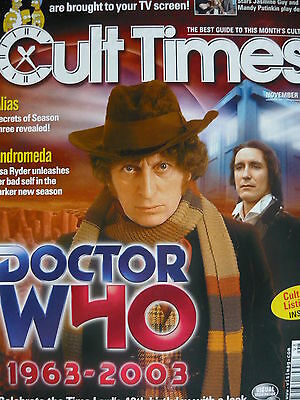 Cult Times Magazine Nov 2003 - Doctor Who
