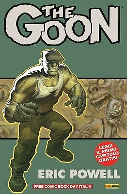 THE GOON NUOVA SERIE  Panini Free Comic Book Day 2019