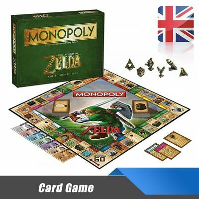 For The Legend of Zelda MONOPOLY Perfect Xmas Gift Party Cool Card Board Game UK