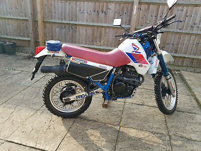 Honda XL 600 RMG Trail Bike Electric Start Reg1988 Thumper Enduro Style Blue