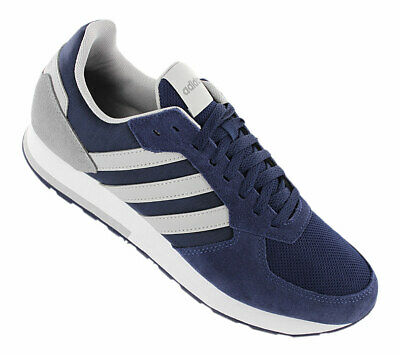 NEW ADIDAS 8K Men's Training Sneakers Navy Blue SZ 8 11