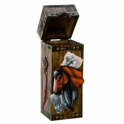 Western Flaschenbox Pferd - Wine Bottle Holder Horse