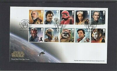 GB 2019 Star Wars Royal Mail FDC First Day Cover Iver Heath Iver special pmk