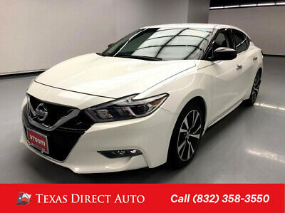 2018 Nissan Maxima S Texas Direct Auto 2018 S Used 3.5L V6 24V Automatic FWD Sedan Premium