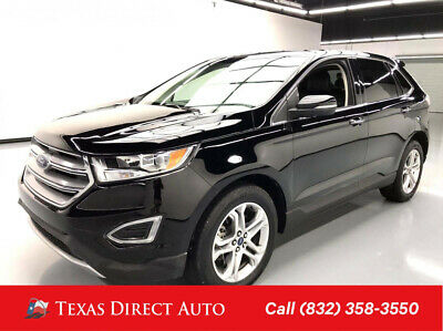 2017 Ford Edge Titanium Texas Direct Auto 2017 Titanium Used Turbo 2L I4 16V Automatic AWD SUV Premium