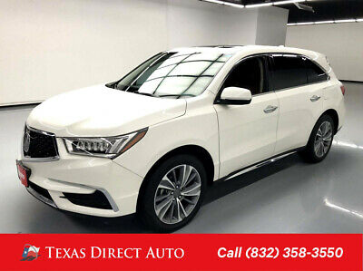 2017 Acura MDX w/Technology Pkg Texas Direct Auto 2017 w/Technology Pkg Used 3.5L V6 24V Automatic FWD SUV