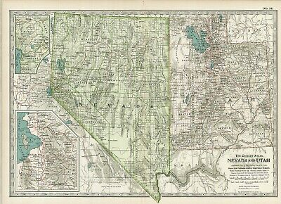 1897 (98) Nevada and Utah by The Century Co,