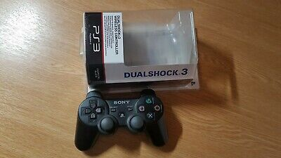 Official Sony Playstation 3 Dualshock Sixaxis Controller Black (Joystick Drifts)