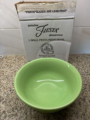 Fiesta retired Chartreuse Small Mixing Bowl, NIB, 1st Quality