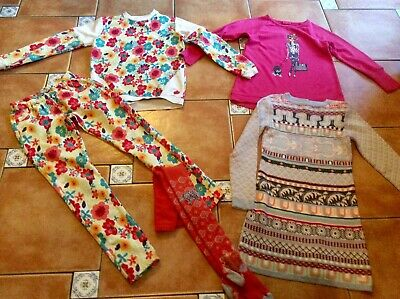 Mustsee Outfits * Boboli 2Piece * MeToo Top * Kenzo Dress * Oilily Tights 8yr