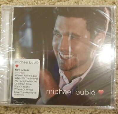 love (Deluxe Edition) Michael Buble Audio CD NEW