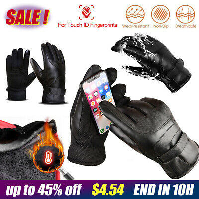 Outdoor Ski Cycling Winter Warm Windproof Sports Gloves Men Women Touch Screen