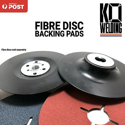 "125mm BACKING PADS for FIBRE Disc M14 | Back up  5"" Sanding Plastic 