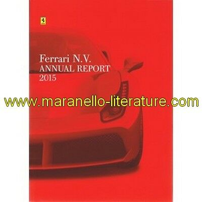 Brochure Ferrari N.V. annual report 2015