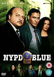 NYPD Blue - Series 3 - Complete (DVD, 2006, Box Set) cult drama thriller