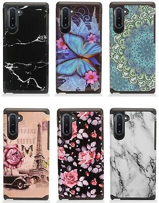 for {Samsung Galaxy Note 10} Design AH2 Hybrid Cover Phone Case
