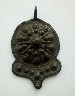 Ancient Medieval Bronze Decoration Of The Byzantine Empire. Artifacts.