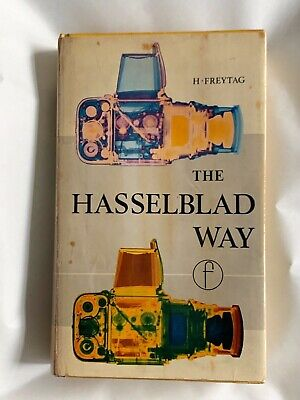 The Hasselblad Way, Hardback book, 1968, 1st Ed