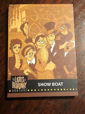 Lights of Broadway Show Boat Card From The 2019 Series