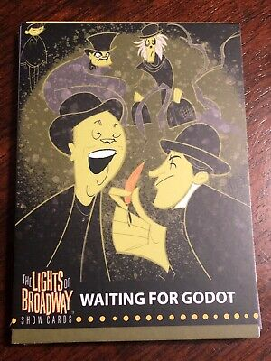 Lights Of Broadway Card Waiting For Godot 2019 Series