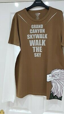 UNIQUE GRAND CANYON SKYWALK LONG SLEEVED T-SHIRT SIZE XL *** Reduced to sell***