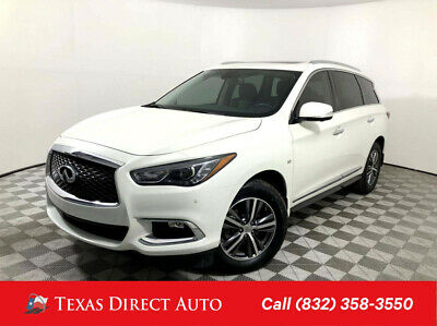 2017 Infiniti QX60  Texas Direct Auto 2017 Used 3.5L V6 24V Automatic FWD SUV Premium